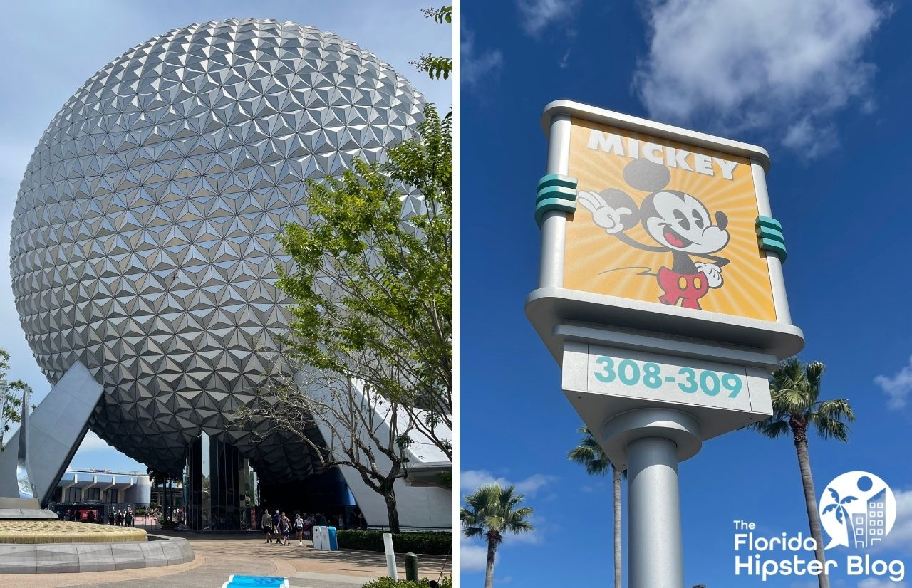 How to get from Epcot to Hollywood Studios with Spaceship Earth and Mickey Mouse